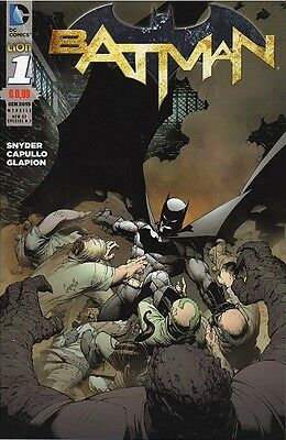 BATMAN n°1 - new 52 special n°1 - Lion