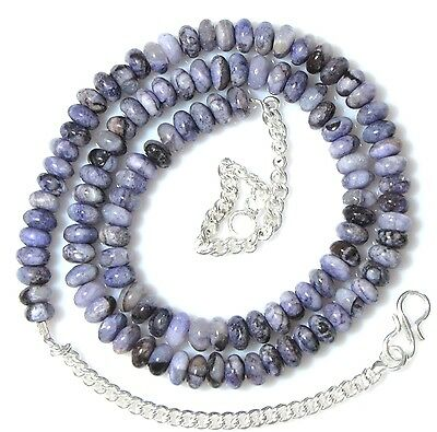 Ct 120.90 Natural Rare Sugilite Beads Cabochon Necklaces Top Gemstone Free ship*