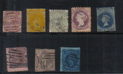Australian States Interesting small used collection