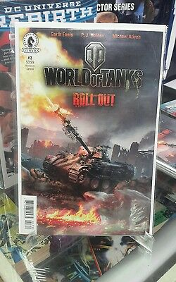 World of tanks roll out 3 with special gaming code Comic book