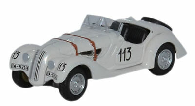 Oxford Diecast BMW 328 Mille Miglia 1938 76BM28001 OO Scale (Suit HO also)