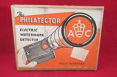 A 1950S Philatector Electric Watermark Detector.