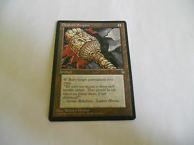 1x MTG Despotic Scepter-Scettro del Despota Magic EDH IA Era Glaciale ING x1