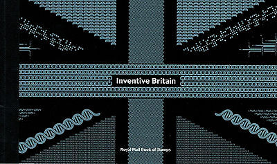 Inventive Britain - Royal Mail Prestige Stamp Book PSB FDE / FDC - 19.02.2015