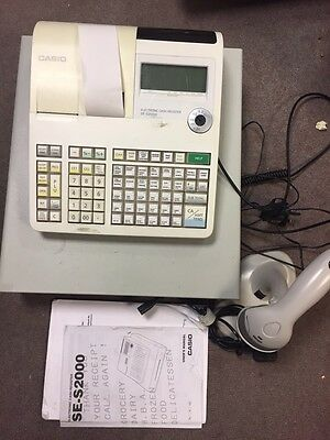 Electronic Cash Register SE-S2000 With Scanner Easy Programming