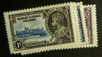 Stamps: Gilbert & Ellice, Is. SG# 36-39  MLH VF   (D007)