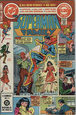 Superman Family Issue 210 from 1981 Giant Size Issue