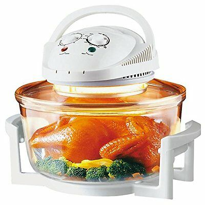 Small Compact Portable Electric Halogen Tabletop Convection Oven Mini Cooker NEW