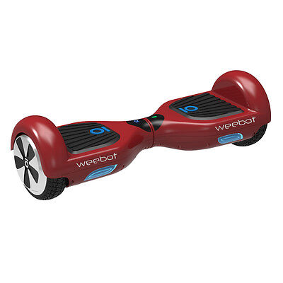 Hoverboard Weebot X IO Classic Rouge - 6,5 Pouces - Neuf