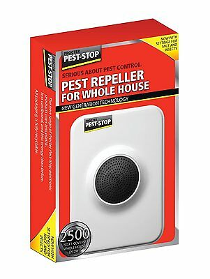 Ultrasonic House Home Indoor Pest Insect Rat Mouse Mice Rodent Repeller Deterent