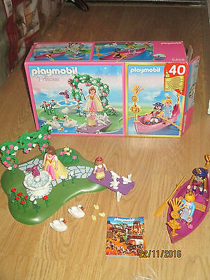 playmobil toy set 5456 princess 40th anniversary boxed complete vgc.. great set.