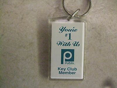 2 VINTAGE PUBLIX KEY CHAIN (this is for 2 items)