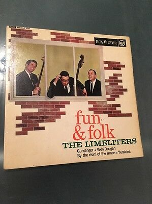 The Limeliters - Fun And Folk RCA Ep Ex Ex