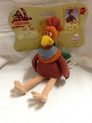 Brand New Novelty Chicken Run Character BNWT Plush Toy -  ���� PLUS FREE GIFT