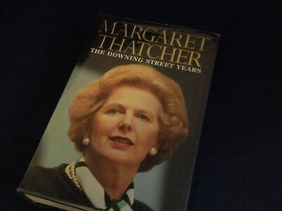 Margaret Thatcher - Signed - The Downing Street Years