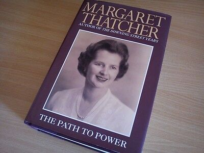Margaret Thatcher - Signed - Path To Power