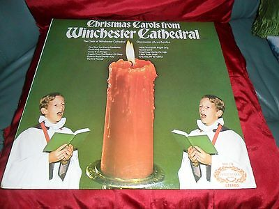 LP Record Xmas Carols, the choir of Winchester Cathedral.Excellent condition