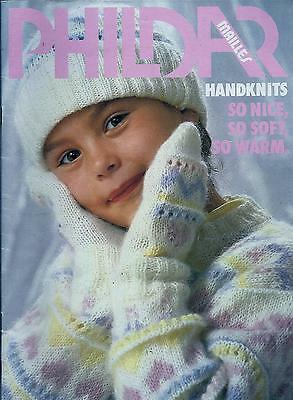 Vintage 1984 Phildar Knitting Book No.112  Children's Designs