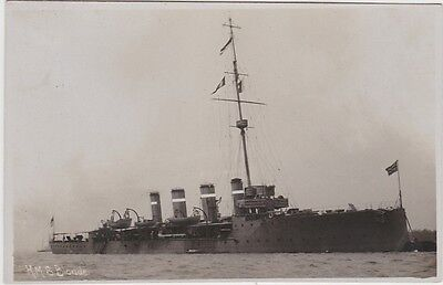 """Royal Navy Real Photo. """" HMS Blonde """" Lead ship Scout cruiser. c 1916"""