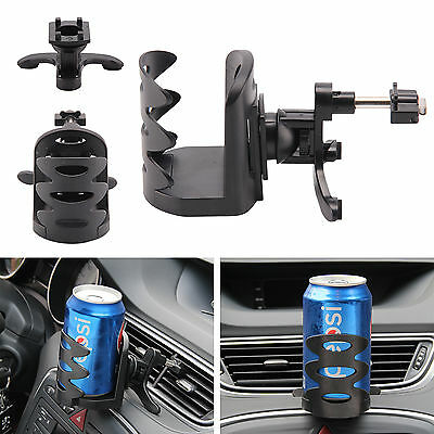 Universal Auto Car Van Air Vent Mount Beverage Drink Cup Bottle Can Holder Stand