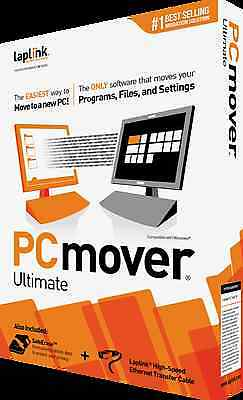 Laplink PCmover Ultimate with SafeErase - OEM packaging