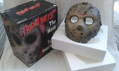NECA Friday The 13th - Jason Voorhees Mask Prop Replica Official.