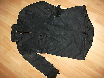 marks and spencer girls black coat age 11-12 years