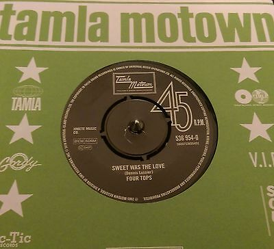 Four Tops  - Sweet Was The Love - Northern Soul - Motown