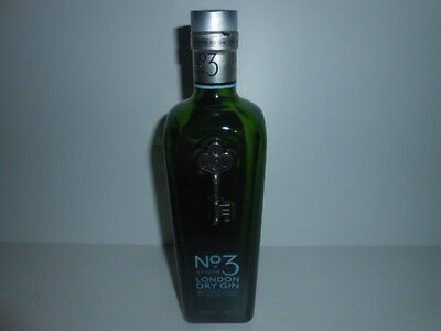 EMPTY GIN BOTTLE '' No3 BERRY BRO.s & RUDD ''/ 5***** CONDITIONS - SEE PHOTOS