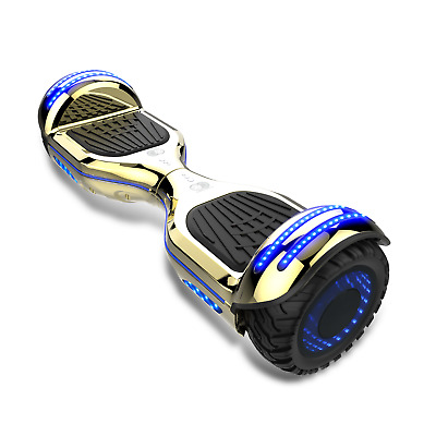 HOVERBOARD UL 2272 certified Electric self balance scooter BLUETOOTH C Blue