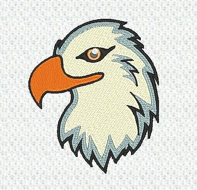 """Eagle"" Machine Embroidery Design, Fast & Free P/p Email, Cute, New"