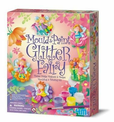 4M Mould & Paint Glitter Fairy. BRAND NEW. *FREE P & P . * BEST PRICE ON EBAY
