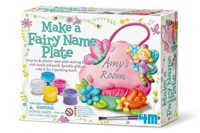 4M Make a Fairy Name Plate. BRAND NEW. *FREE P & P * BEST PRICE ON EBAY