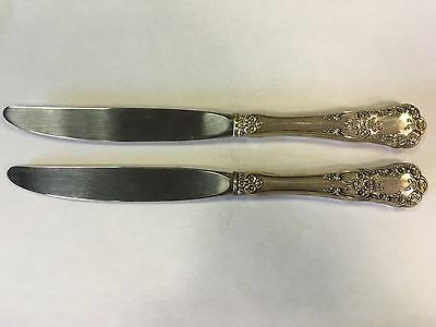 Lot of 2 Gorham Buttercup Sterling Silver Butter Knives