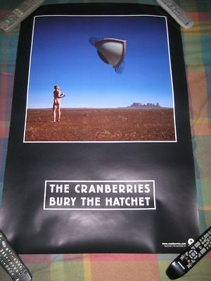 THE CRANBERRIES-(bury the hatchet)-1 POSTER-2 SIDED-24X36-NMINT-RARE