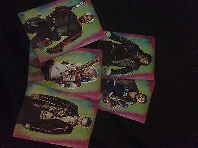 Suicide Squad Movie Police Line Up 5 Trading Cards Promo