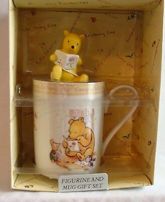 Royal Doulton - Classic Winnie the Pooh Congratulations Cup with Pooh Figurine
