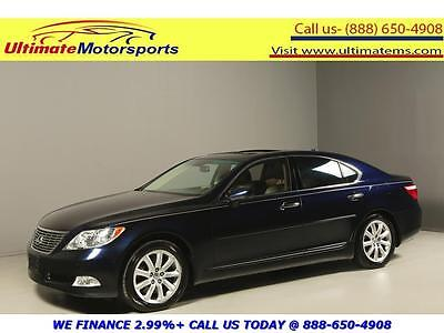 2009 Lexus LS  2009 LEXUS LS460 AWD NAV SUNROOF LEATHER SPORT HEAT/COOL SEATS RCAM BLUE