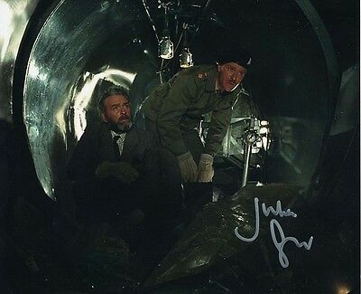 Julian Glover In Person Signed Photo - B308 - Quatermass and the Pit