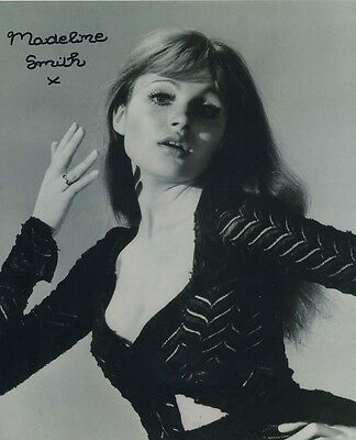 Madeline Smith In Person Signed Photo - B340 - SEXY!!!!