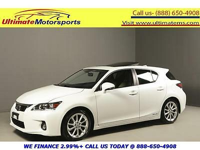 2013 Lexus CT 200h Base Hatchback 4-Door 2013 LEXUS CT200h HYBRID NAV SUNROOF LEATHER SPORT HEATSEAT PEARL WHITE WARRANTY