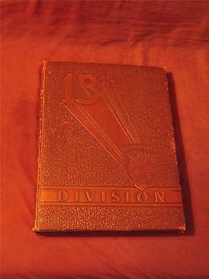 History Of The 13th Airborne Division WW II hc book original 1943-1946 military