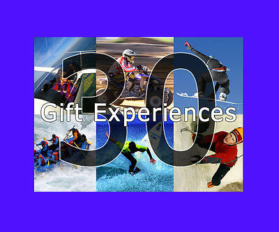 30 Adrenaline Experience Gift Choices - Valid min. 9 months from issue