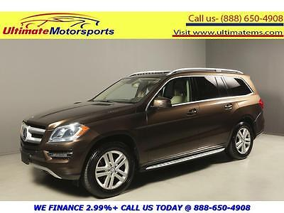 2013 Mercedes-Benz GL-Class Bluetec 4Matic Sport Utility 4-Door 2013 MERCEDES-BENZ GL350 BlueTEC DIESEL AWD NAV DVD SUNROOF BROWN WARRANTY