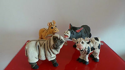 Lot Of Staffordshire Blythe Collectibles Animal Figurines - Figure