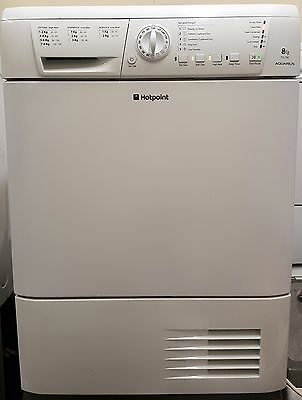 Hotpoint Condenser Dryer - 8Kg Load - White - Sensor Drying - Good Condition