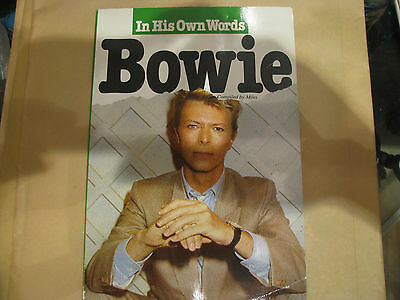 David Bowie In his own Words Book