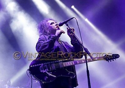 Robert Smith The Cure Photo 8x12 or 8x10 inch 2016 UK Live Concert Exclusive SH2