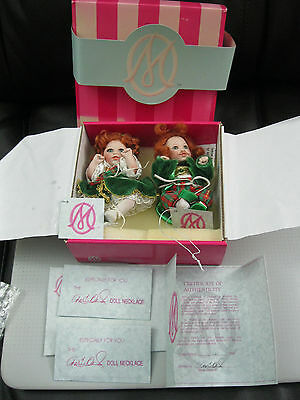 Marie Osmond Tiny Tots Dolls St. Paddy & His Bonnie Lass Doll Set