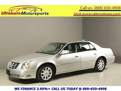 "2009 Cadillac DTS  2009 CADILLAC DTS LEATHER BLIND HEAT/COOL SEATS 17""ALLOYS PWR SEATS WOOD SILVER"